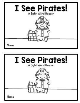I See Pirates! - A sight word reader