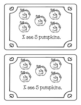 I See Pumpkins Counting Book