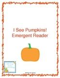 I See Pumpkins! Printable Book