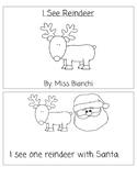 I See Reindeer-Emergent Reader Number Words