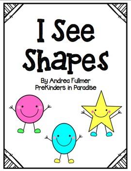 I See Shapes Emergent Reader Pack