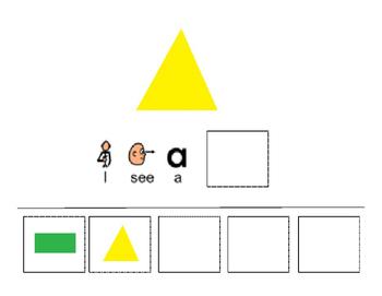 I See Shapes - Interactive Book