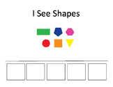 I See Shapes - Interactive Book