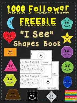 I See Shapes Mini Book (1000 follower freebie)