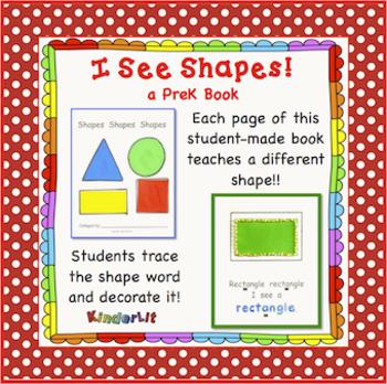 I See Shapes PreK Book