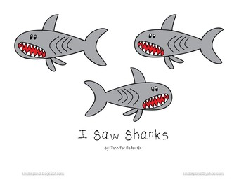 I Saw Sharks : Shared Reading Book