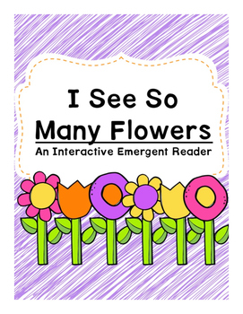 Spring Flower Counting Emergent Reader