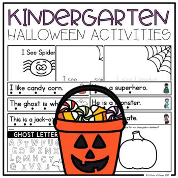 {FREEBIE} Halloween Printables for Kindergarten & Grade One