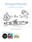 I See Spring - emergent reader