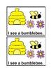 I See Spring in color Emergent Reader Book for Preschool &