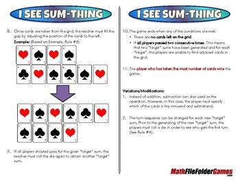 I See Sum-thing - 2nd Grade Math Game [CCSS 2.OA.B.2]