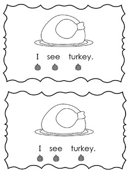 I See Thanksgiving Book