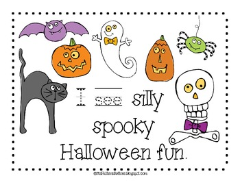 I See The Silly Spooky Halloween Book