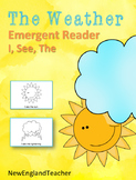 I See The Weather Printable Emergent Reader Book for Young