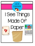 I See Things Made Of Paper - Little Reader