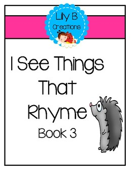 I See Things That Rhyme - Book 3