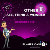 I See, Think & Wonder Kit   Develop Thinking & Questioning Skills   Grades 1-5