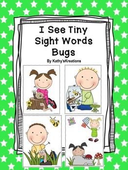 I See Tiny Sight Words Bugs