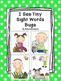 I See Tiny Sight Words Bugs