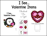 Valentine's Day Adapted Book for Preschool, Pre-K and Special Needs