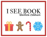 I See Winter Edition | Sentence Building, Counting, Identifying Activity