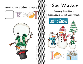I See Winter - Snowy Edition - Interactive Vocabulary Book
