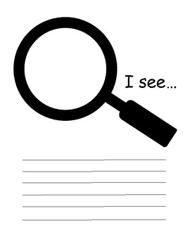 I See... Wonder Area Inquiry