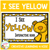 Colors I See Yellow Interactive Book Animals