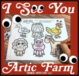 I See You Artic Farm: A Googly Eyes Speech Therapy Companion