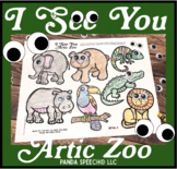 I See You Artic Zoo: A Googly Eyes Speech Therapy Companion