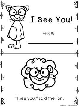 I See You Emergent Reader