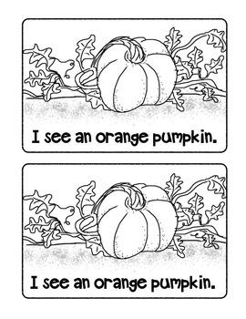 I See a Pumpkin Book