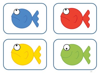 I See a Red Fish - Learn Colors and Color Words - Autism; Kindergarten
