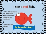 I See a Red Fish - Learn Colors and Color Words - Autism;