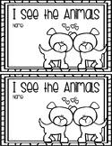 I See the Animals (Valentine's Day Emergent Reader)