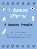 I Sense Winter *FREEBIE* 5 Senses Activity