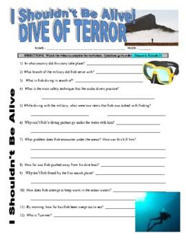 I Shouldn't Be Alive: Dive of Terror (video worksheet)