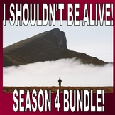 I Shouldn't Be Alive : Season 4 Bundle (16 Video Worksheets) / Sub Plans