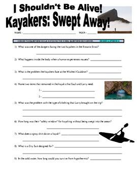 I Shouldn't Be Alive : Swept Away (video worksheet)