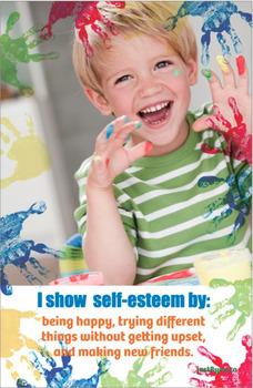 'I show self-esteem' Poster