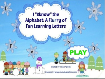 """I """"Sknow"""" the Alphabet: A Flurry of Fun Learning Letters"""