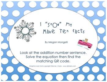 "I ""Snow"" My Math Facts"