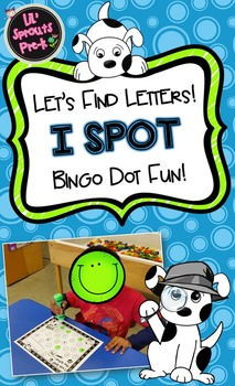 I Spot Letters, Letter Identification, I Spy, A-Z
