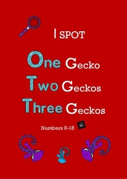 I Spot One, Two, Three Geckos, Number 0-18
