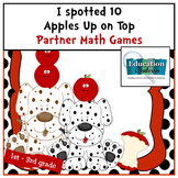 I Spotted 10 Apples Up on Top Math Games for: 1st grade, 2nd grade, 3rd grade