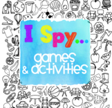 I Spy 20 Questions Oral Language Game