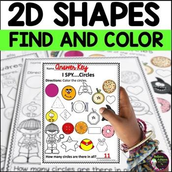 I Spy 2D Shapes!