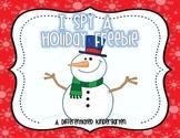 I Spy A Holiday Freebie- Aligned Dolch Word Activity.