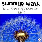 I Spy! A Summer Walk Nature Scavenger Hunt