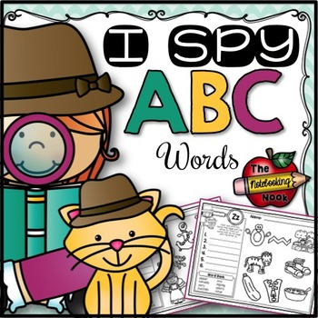 I Spy Alphabet Words
